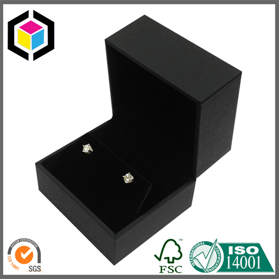 Luxury Black Color Jewelry Earring Gift Paper Box Shanghai