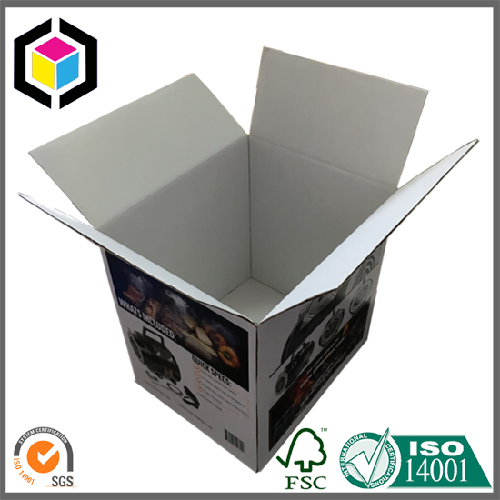 Color Printing Durable B Flute Corrugated Packaging Box China