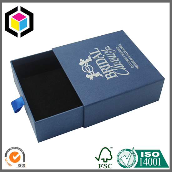 Offset Printing Custom Made Drawer Gift Paper Box China