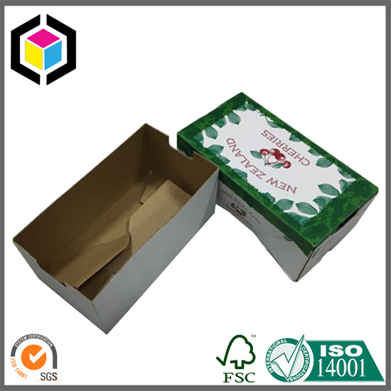 Full Color Offset Printing Cherry Paper Box China