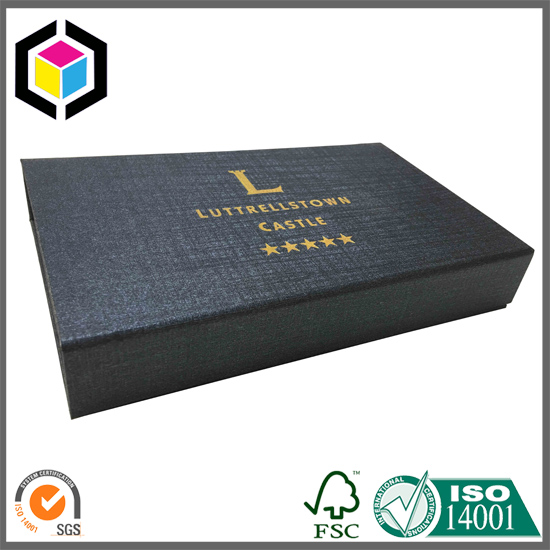 EVA Foam Custom Black Cardboard Paper Gift Box China