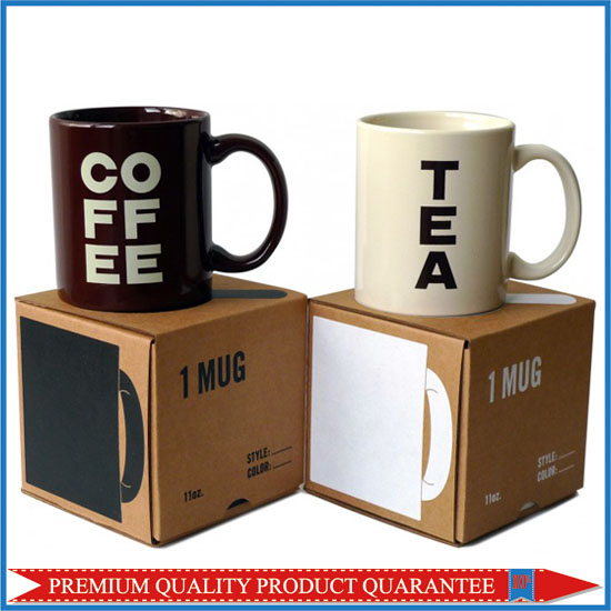 Coffee Tea Mug Kraft Color Box
