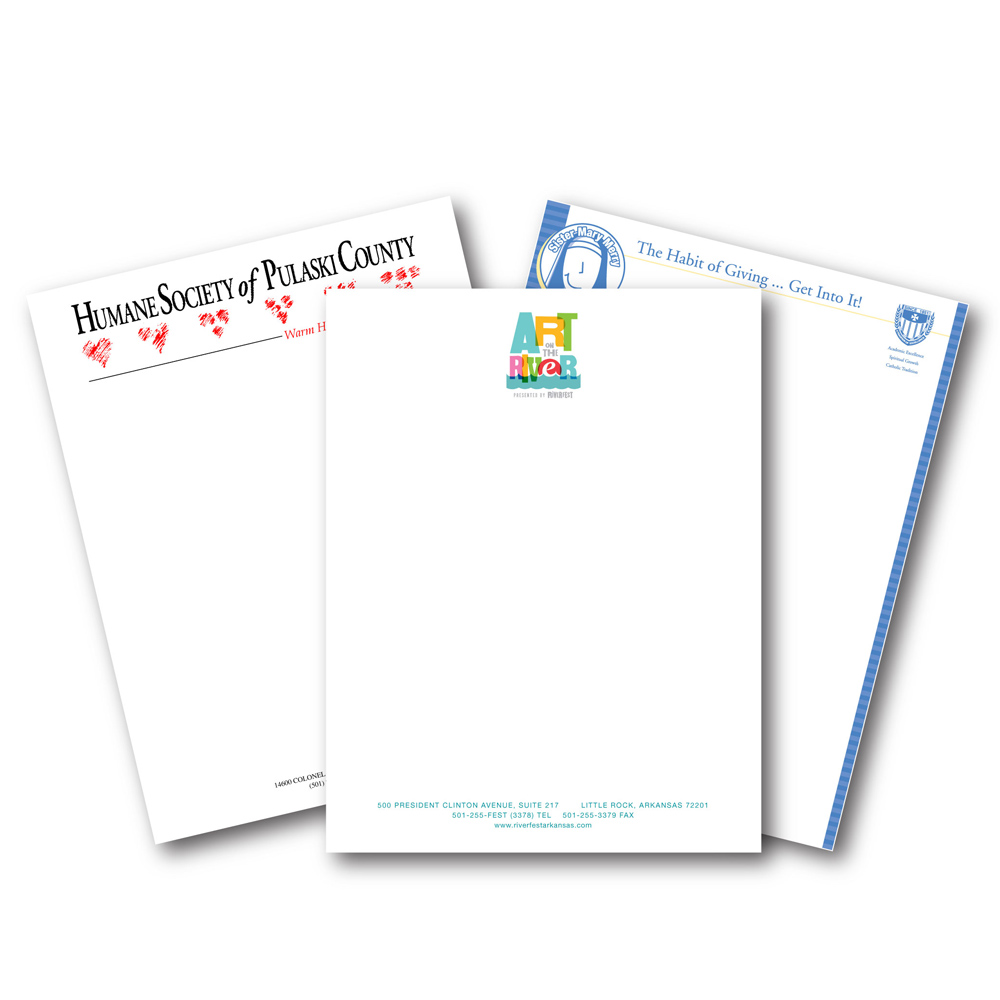 Full Color Offset Print Paper Letterhead