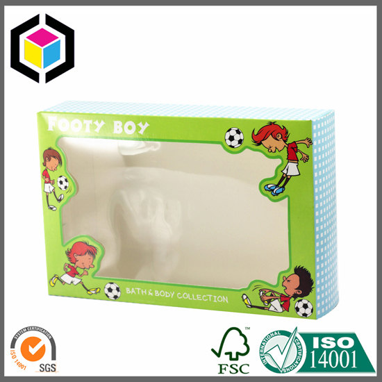 Clear Window Cardboard Paper Packaging Box