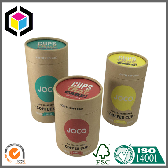 Color Print Kraft Paper Tube