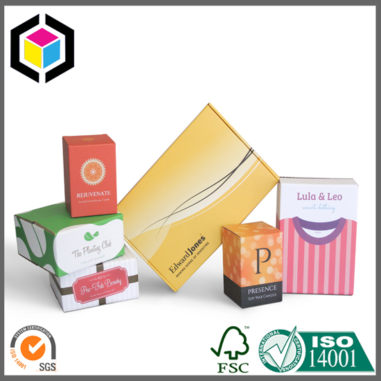 Color Printed Corrugated Packaging Boxes