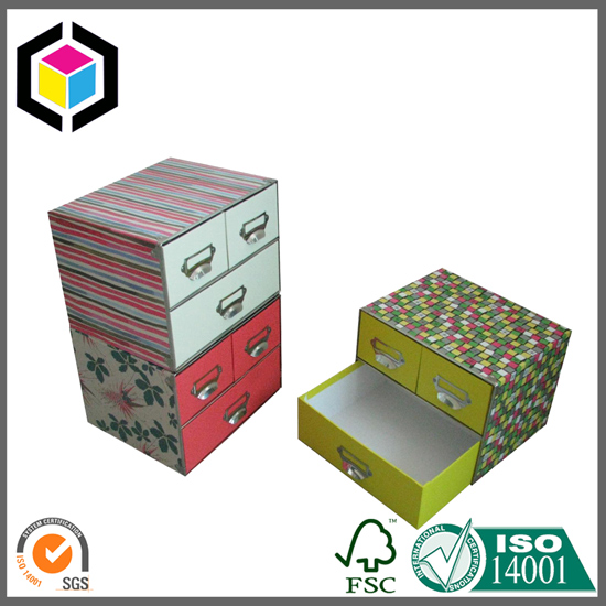 Drawer Style Cosmetics Color Gift Set Box