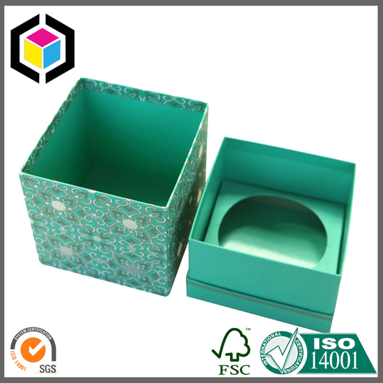 Color Printing Handmade Candle Gift Paper Boxes