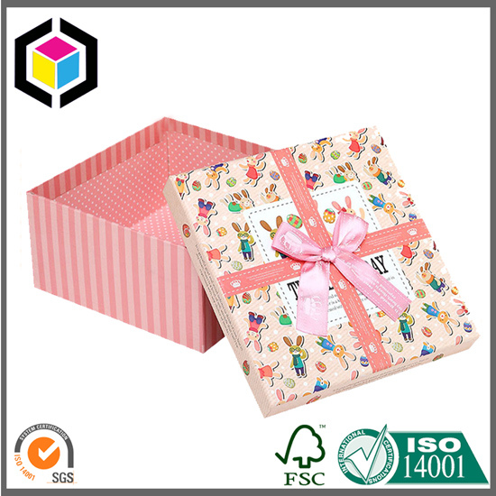 Luxury Color Print Two Pieces Rigid Gift Box