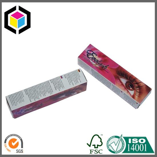Color Printing Cosmetics Eyeliner Paper Box