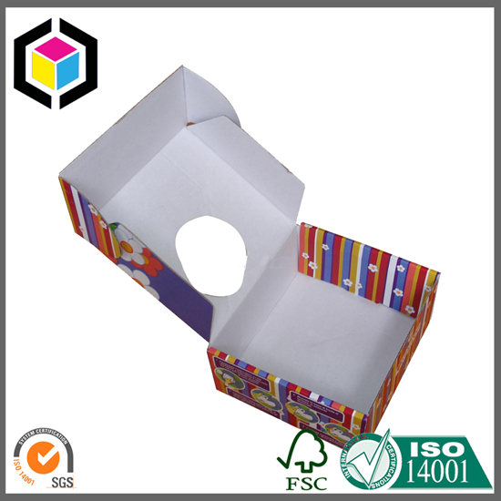 White Color Print Corrugated Mailing Box