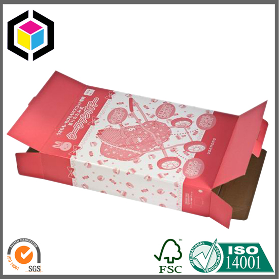 Large Size Color Print Gift Corrugated Box
