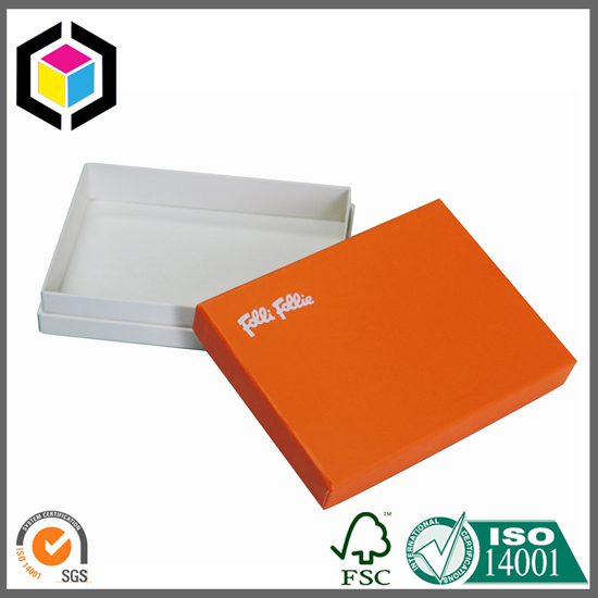 Laminated Matte Color Print Cosmetics Gift Paper Box