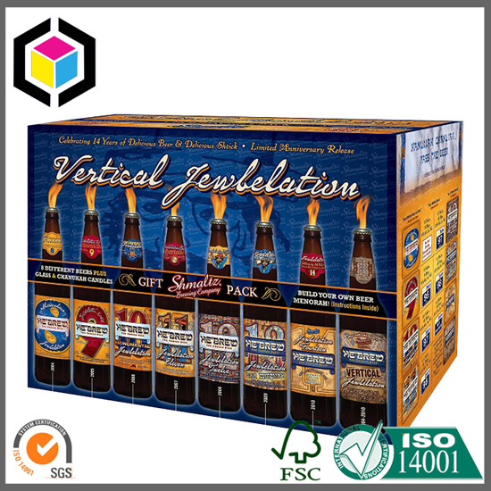 Brewery Beer Color Print Corrugated Carton Box