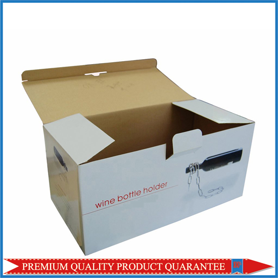 Wine Holder Corrugated Packaging Box