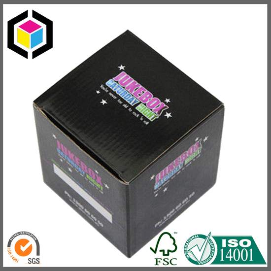 Small Sized Color Print Cardboard Packaging Box