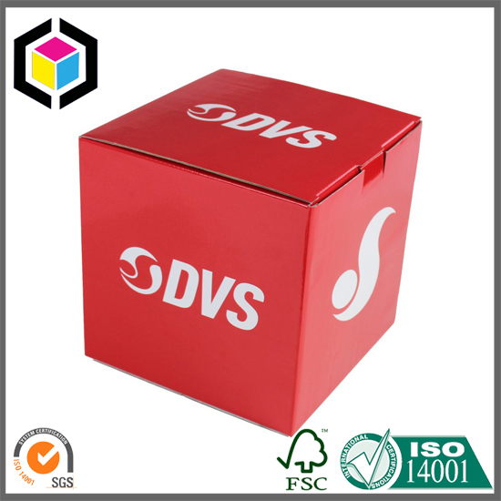 Bottom Self Locking Matte Color Corrugated Paper Box