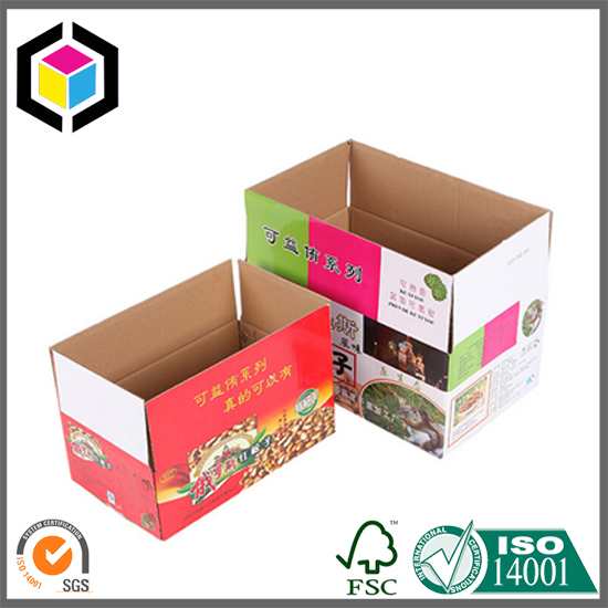 RSC Color Print High Quality Strong Corrugated Packaging Box