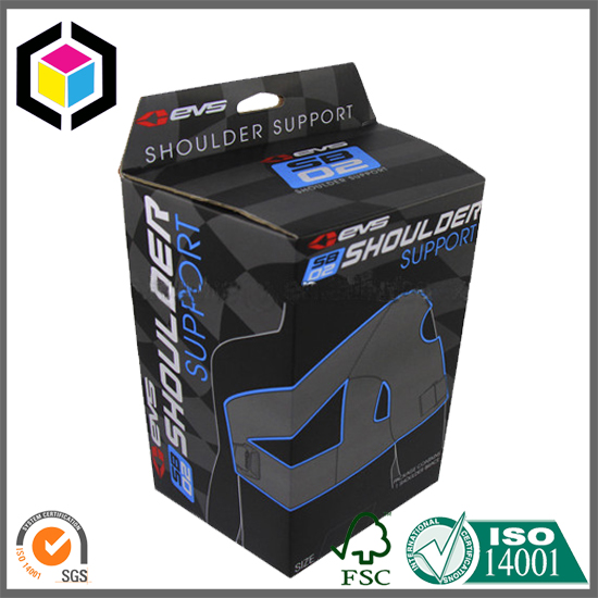 Fashion Sport Wear Color Print Packaging Paper Box