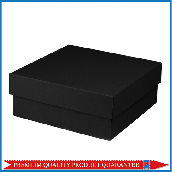 square black gift packing box