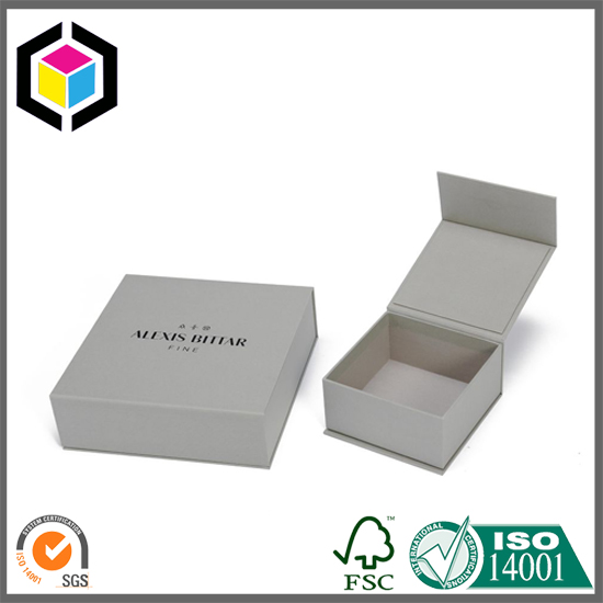 White Recycled Custom Color Print Cosmetics Paper Gift Box