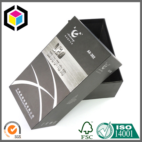 LED Flashlight Cardboard Packaging Paper Box