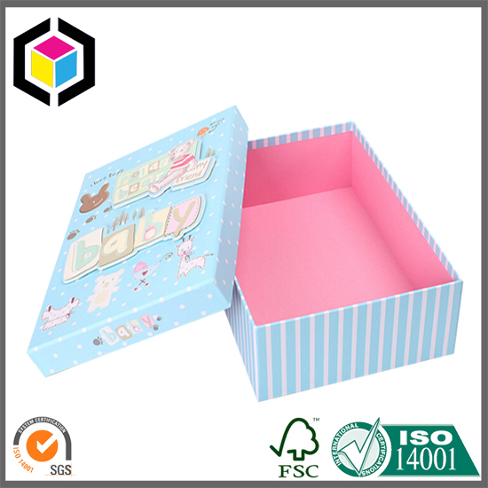 Cute Lift Off Lid Rectangular Cardboard Presentation Box