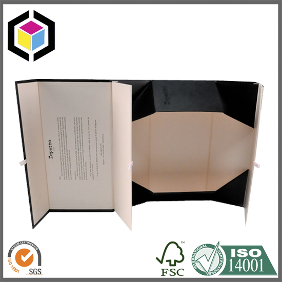 Color Print Collapsible Gift Box Factory China