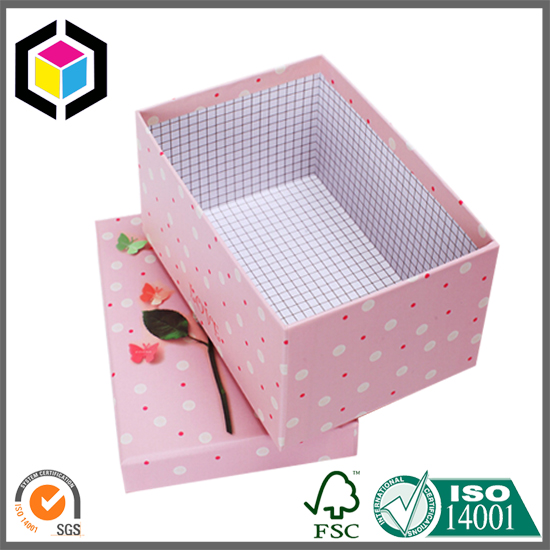 Printed Cardboard Jewellery Boxes with Detachable Lid
