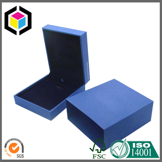 High Grade Jewelry Gift Paper Box with Paper Sleeve