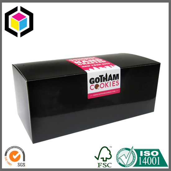 Glossy Color Printing Cookie Paper Packaging Box
