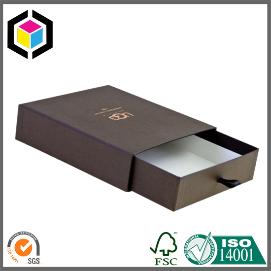 Drawer Style Cardboard Sliding Box Gift Jewelry Box