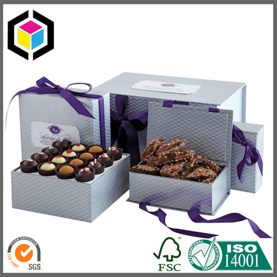 Custom Color Print Dessert Food Paper Packaging Box