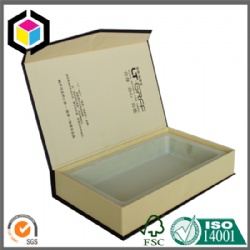 Lid Hinged Magnet Close Rigid Cardboard Paper Gift Packaging Box