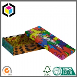 Colorful Print Rigid Cardboard Boutique Gift Box China