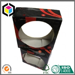 Glossy Color Printing Corrugated Football Packaing Box China