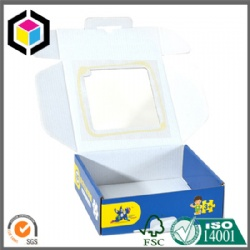 Plastic Window Corrugated Shipping Paper Box China