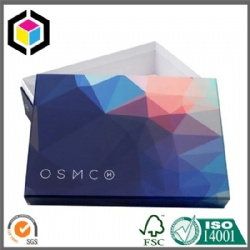 Custom Color Print Rigid Cardboard Cosmetics Gift Box