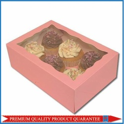 PVC Clear Window Cupcake Box