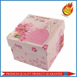 Pink Print Candies Cardboard Box