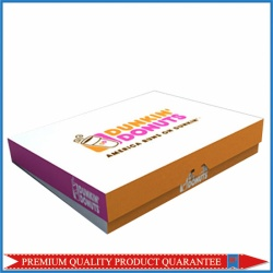 Folding Custom Print Donuts Boxes