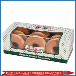 Paper Donuts Box with Clear Window