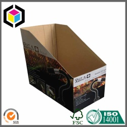 Matte Color Litho Printing Corrugated Bin Box