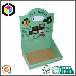 Offset Print Color Corrugated Cardboard Display Stand