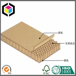 Brown Kraft Paper Honeycomb Board
