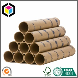 Custom Logo Color Print Round Paper Tube