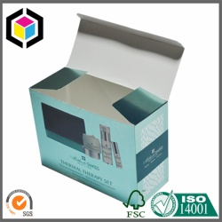 Good Quality Metallic Paper Cosmetics Cardboard Paper Box