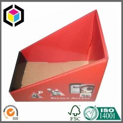 Red Matte Laminated Color Print Corrugated Display Box