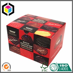 Custom Full Color Print Packaging Chocolate Paper Box
