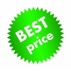 green color best price sticker for promotion